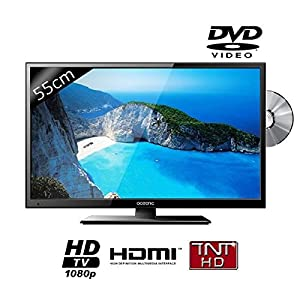 OCEANIC LED215DVD2 TV LED Full HD Combo DVD 55cm