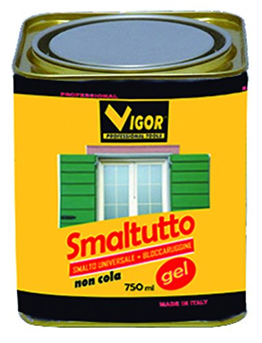 CDI 3366202 Smaltutto 9010 Smalto Antiruggine, Bianco Lucido, 750 ml