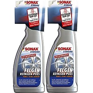 2x SONAX XTREME FelgenReiniger PLUS für alle Stahl- und Leichtmetallfelgen 750 ml