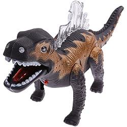 Juegos de Luz para Cabrito Animales Jurásicos Eléctrica Dinosaurios Robot Que Camina 0693