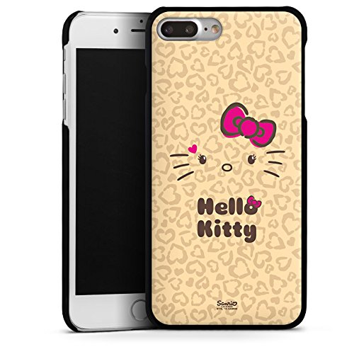 DeinDesign Hülle kompatibel mit Apple iPhone 7 Plus Handyhülle Case Hello Kitty Merchandise Fanartikel Leo