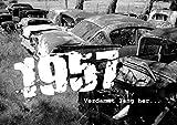 DigitalOase BILD/Poster + GeburtstagsKarte im Set 1957