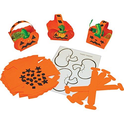 rick or Treat Körbe (Spaß Halloween-handwerk Zu Hause)
