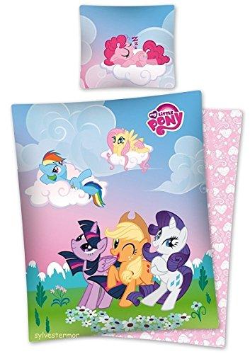 Hasbro Bettwäsche Mein Kleines Pony, Baumwolle, Blau, 160 x 200 cm, 2-Einheiten