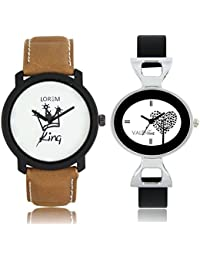 The Shopoholic Designer White And Black Love Tree Dial Awesome Analog Watches For Men-Watches For Girls