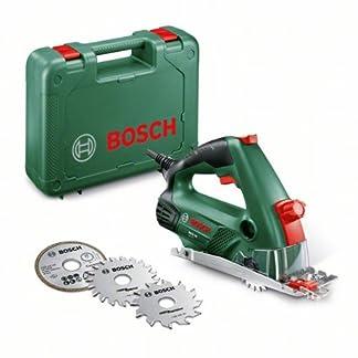 Bosch Home and Garden 0.603.3B3.000 Mini sierra circular, 400 W, 240 V