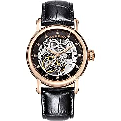 Automatic mechanical watches/ strap waterproof watch/Fashion cut watch-I