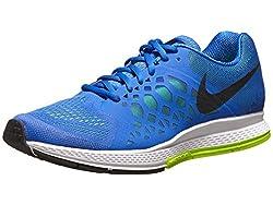 Nike Air Zoom Pegasus 31, Herren-Laufschuhe, Herren, Blue (Hyper Cobalt/Black/Volt), Size 7.5