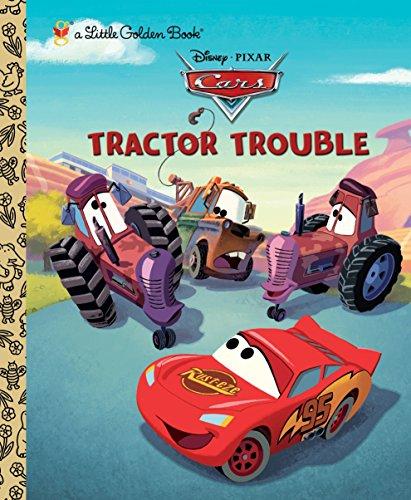 Tractor Trouble (Little Golden Books) por Frank Berrios