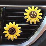 Best deodoranti per auto - Inebiz auto fascino carino giallo girasole interni auto Review
