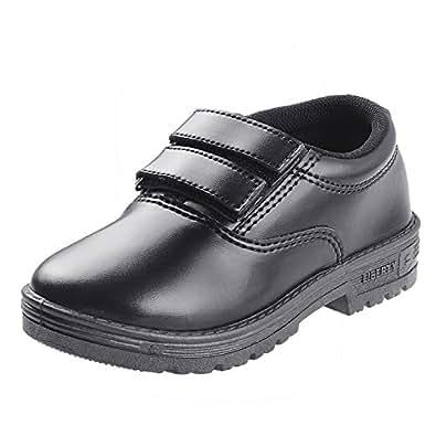 Liberty Unisex Slip-On School Shoes (Size 3 UK/Age 9-10 Years/Length* 22.7 cm.s, Black)