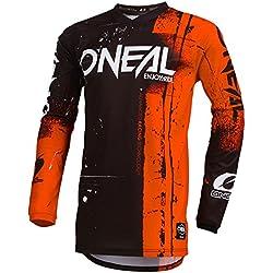 Oneal ELEMENT JERSEY Equipación para Montar En Bicicleta y Motocross, M, Naranja