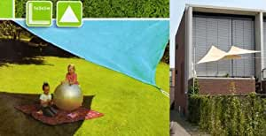 Noname 92540 Voile d'Ombrage Triangle 5 x 5 x 5 m