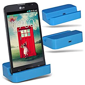(Baby Blue)LG L90 D405 Micro-USB-Desktop-Ladestation stehen Berg By Fone-Case