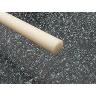 PEEK Rundstab natur, versch. Durchmesser Ø 6 - 100 mm, versch. Längen wählbar (Ø 40 mm, L: 1000 mm)