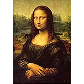 Wowdecor Paint by Numbers Kits for Adults Kids, Number Painting - Da Vinci Mona Lisa's Smile 16x20 inch (Framed)