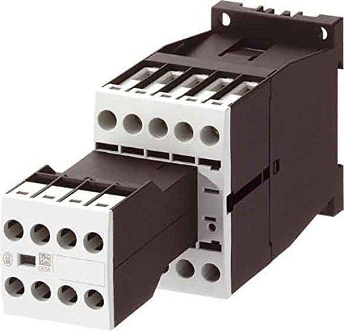 Eaton 276655 Leistungsschütz, 3-polig + 3 Schließer + 2 Öffner, 3 kW/400 V/AC3