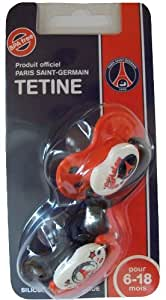 2 x Tetine tototte Bebe - Collection Officielle Football - PARIS SAINT GERMAIN PSG - 6/18 mois
