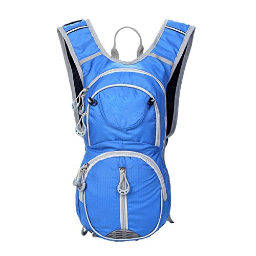 12L Alpinismo Trekking Borse A Tracolla Mountain Bike Uno Zaino In Sella,SapphireBlue LightBlue