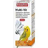 Beaphar Multi-Vit, complesso di vitamine–Pappagallo e Perruche–50ml
