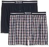 BOSS 2p Boxer Shorts EW Pantaloni Pigiama Uomo, Arancione (Medium Orange 815),