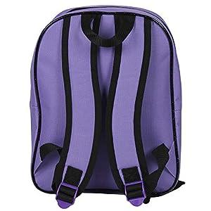 51CfHt 997L. SS300  - Descendants 13734 - Pequeña mochila de niña con gran compartimiento de la serie animada Disney Descendientes, morado