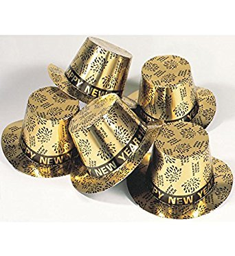 Generique - Zylinder Gold Frohes -