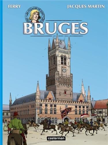 Les voyages de Jhen : Bruges par Jacques Martin, Ferry, Marc Ryckaert, Collectif