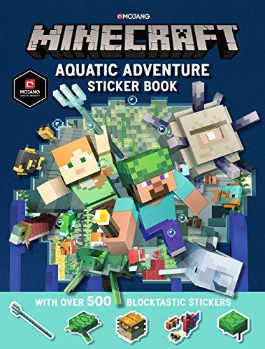 Minecraft Aquatic Adventure Sticker Book