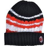 Exclusiv * Set invernale AC Milan Milano berretto e sciarpa Junior acciaio