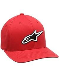Alpinestars Men's Corporate Hat Baseball Cap, Red, Small (Manufacturer Size:Small/Medium)
