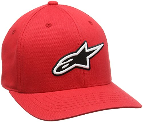 Alpinestars FBA_15-88416 Mens Hats/beanies, corporate hat red, M