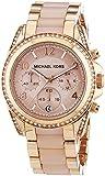 Micheal Kors Damen-Armbanduhr Chronograph Quarz Edelstahl MK5943