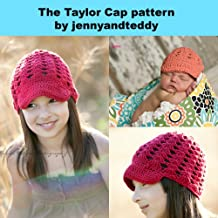 The Taylor cap crochet hat pattern (English Edition)