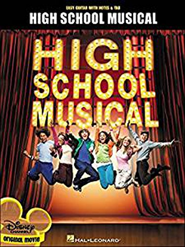 High School Musical for easy guitar. Partitions pour Accord de guitare, guitare