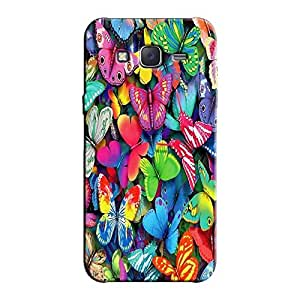COLORFUL BUTTERFLIES BACK COVER FOR SAMSUNG J7