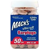 Mack'S Ear Care Ultra Soft Foam Earplugs, 50 Count