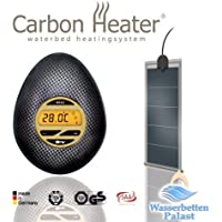 Carbon Heater IQ Carbon - Calentador digital inteligente para camas de agua (320 W)