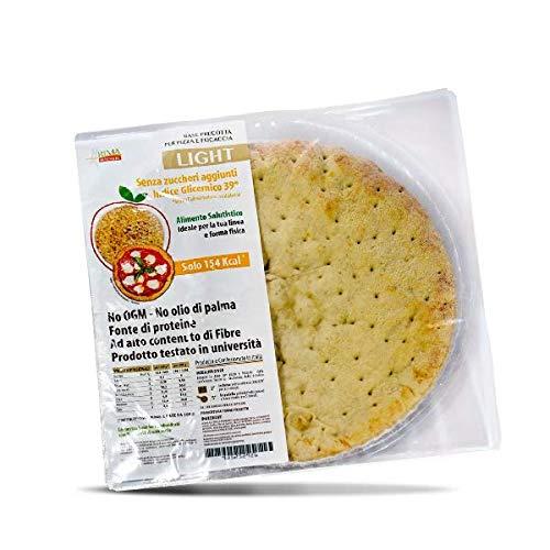 RI.MA Benessera Base Precotta Per Pizza E Focaccia Confezione da 8 Pizze da 200g