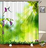 Tende da Doccia per Bagno Impermeabile a Prova d'umidità 3D HD Stampato Beautiful Scenery Tende di Sicurezza e Protezione Ambientale