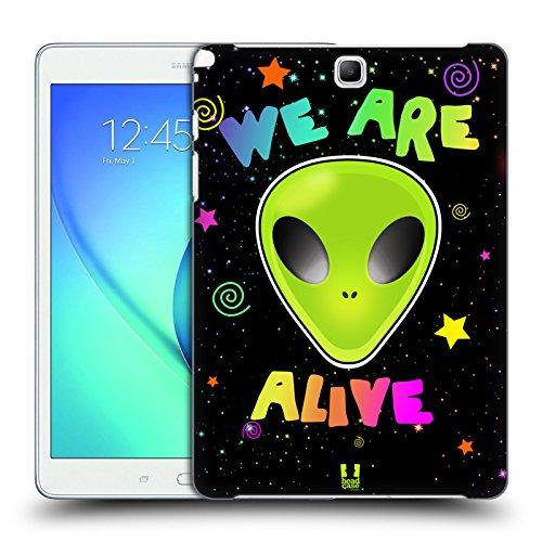 Head Case Designs Bianco E Nero Serie Zip It 2 Cover Retro Rigida per Apple iPhone 7 / iPhone 8 We Are Alive