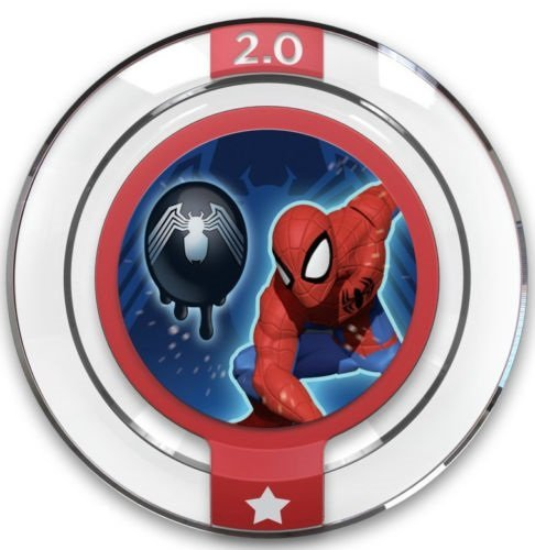 Disney INFINITY: Marvel Super Heroes (2.0 Edition) Power Disc - Alien Symbiote by Disney Infinity Marvel Super Hero Power Discs
