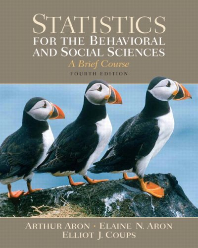 Statistics for the Behavioral and Social Sciences: United States Edition