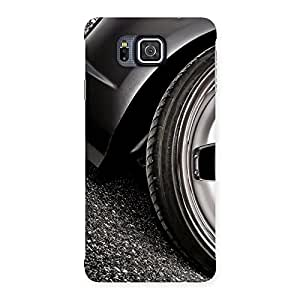 Special Premier Car Beautiful Back Case Cover for Galaxy Alpha