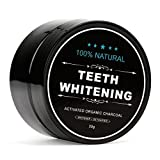 FWQPRA Miracle Teeth Whitener | Natural Whitening Coconut Charcoal Powder