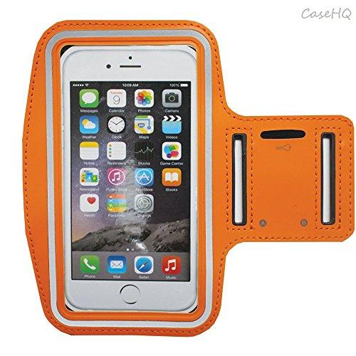 Universal Sportarmband für Apple iPhone 7/7Plus iPhone 6/6S Plus Samsung Galaxy S7/S6/S5Schweiß-Running Armbelt mit kleinen Halter & Tasche für Schlüssel Karte 4,5'14,5cm Bildschirm