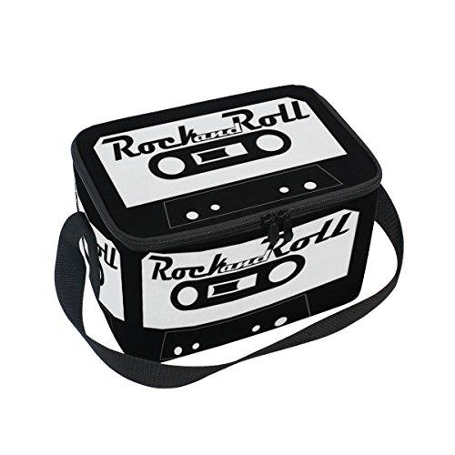 DOSHINE Bolsa de almuerzo con cinta de audio para cassette con aislamiento, reutilizable para hombres, mujeres, adultos, niños y niñas