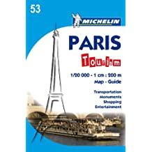 Plano Plegable Paris Tourism (Planos de ciudades Michelin)