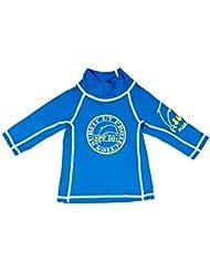 Surfit - Camiseta de manga larga con protección solar para bebés azul azul real Talla:6/12 meses