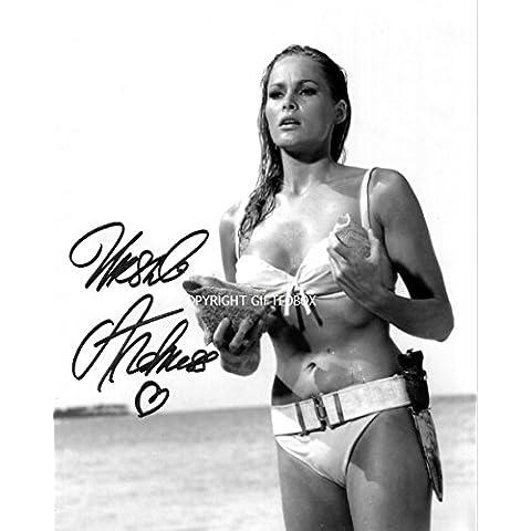 Edizione limitata Ursula Andress foto autografata + Cert Edizione Limitata, Con Autografo stampato